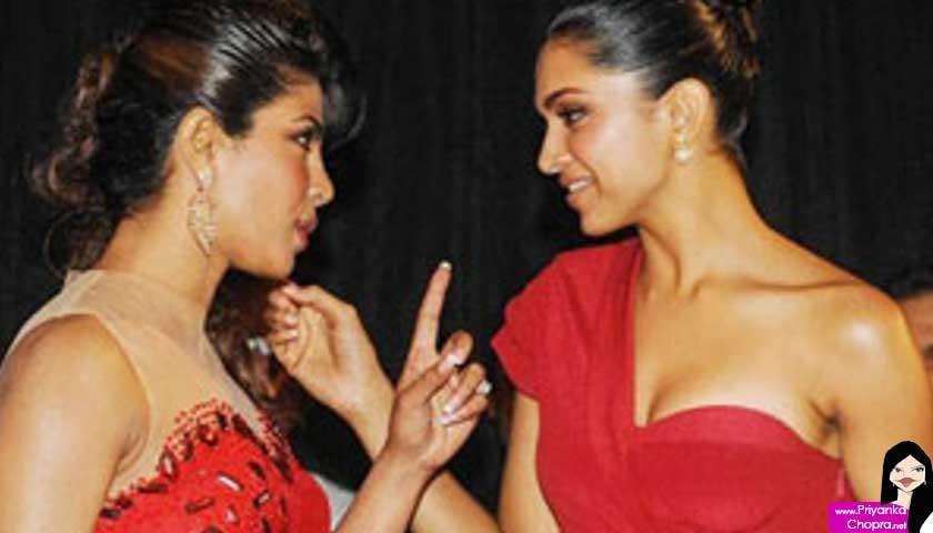 Priyanka Chopra, Deepika Padukone