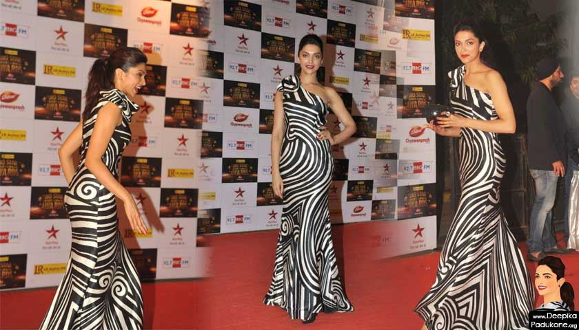 deepika padukone at big star entertainment award 2012