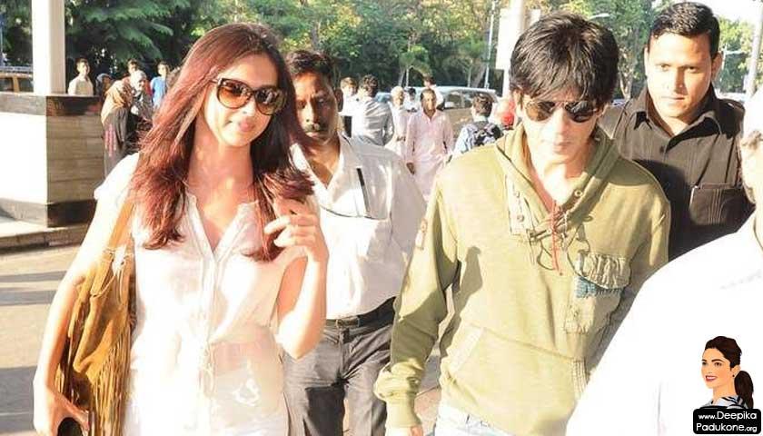 Deepika Padukone, Shahrukh Khan