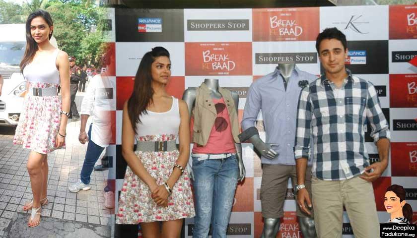 Actor Imran Khan and Indian actress Deepika Padukone