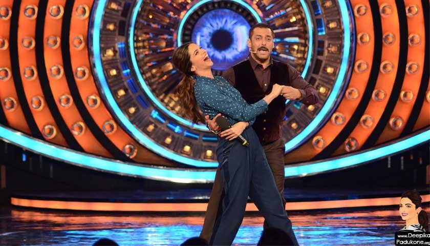 Salman Khan, Deepika Padukone dance