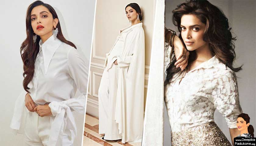 Deepika Padukone white dress