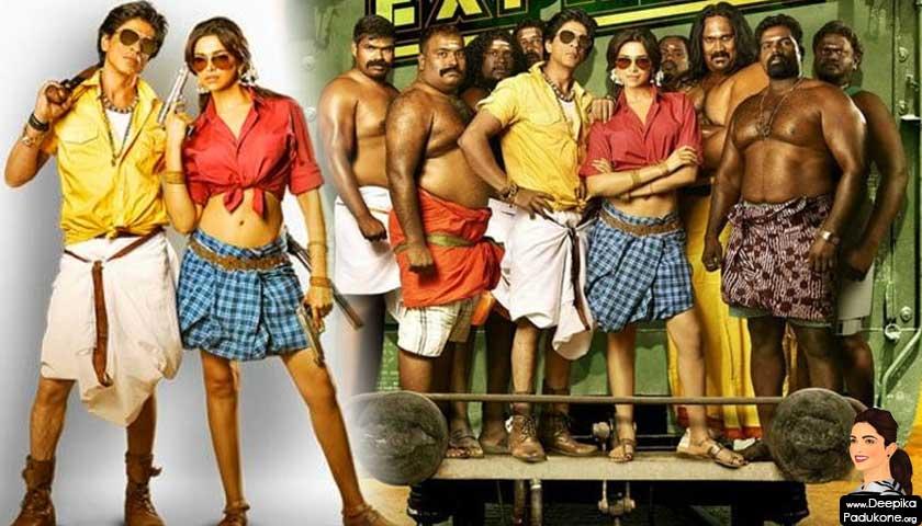 Deepika Padukone wear a lungi in Chennai Express