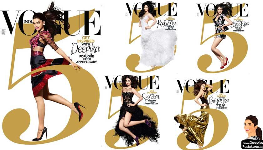 Deepika Padukone – Vogue India (October 2012)