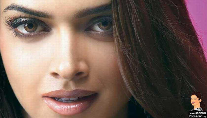 Deepika Padukone face close, eyes, lips, nose