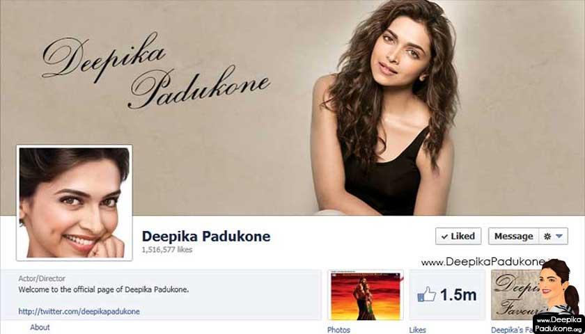 Deepika Padukone facebook page