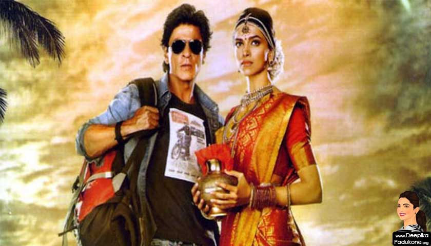 Shah Rukh Khan and Deepika Padukone, Channei Express