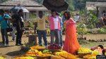 Shah Rukh Khan and Deepika Padukone on the sets of Chennai Express