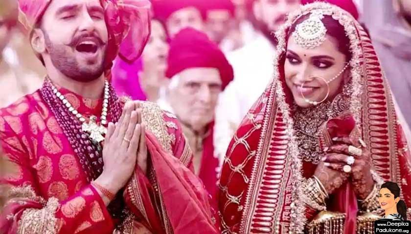 Ranveer Singh-Deepika Padukone Wedding
