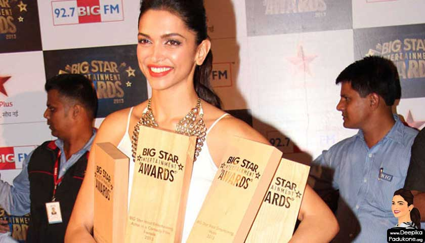 deepika padukone, _big star awards